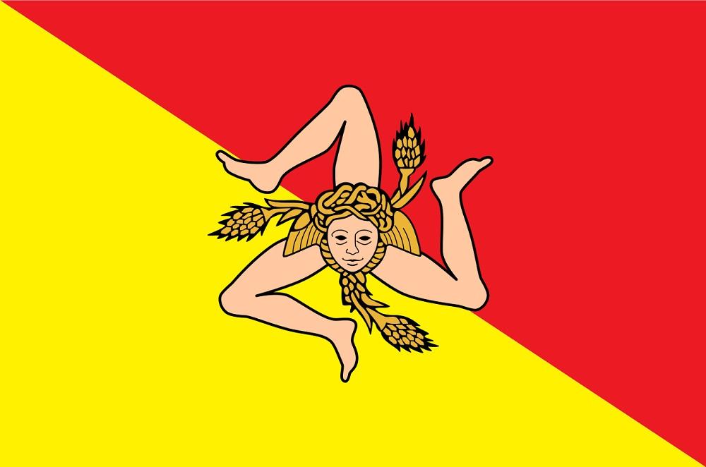 The Origins Of The Sicilian Flag Casa Amaltea